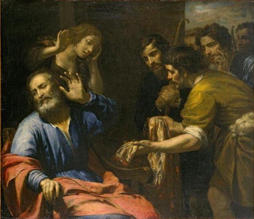 Giovanni_Andrea_de_Ferrari_-_'Joseph's_Coat_Brought_to_Jacob',_oil_on_canvas,_c__1640,_El_Paso_Museum_of_Art