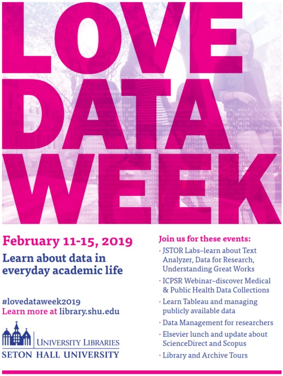 Love Data Week 2019 Flyer