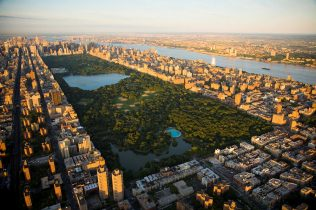 Above is a current image from Central Park. The Park takes up roughly 843 acres of land, which is roughly 16 billion New York apartments.
