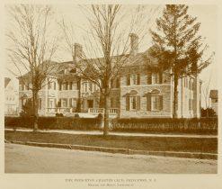 The Princeton Charter Club Building, 1915