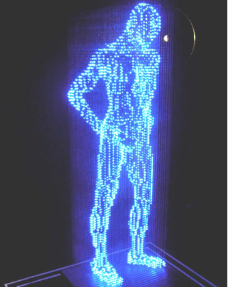 Hologram body