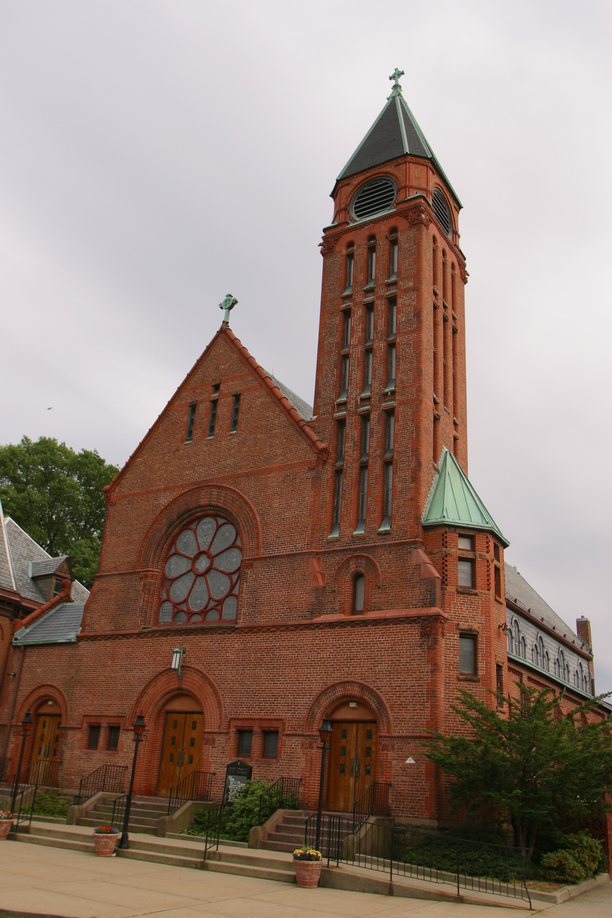 Rahway – Saint Mary « Churches of the Archdiocese of Newark