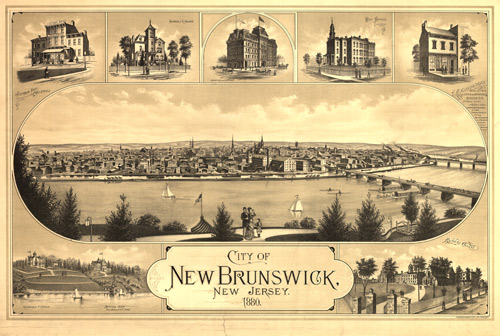 Mapping New Brunswick Memories