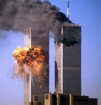 The most horrific day in Americas history. The attack on The World Trade Centers Twin Towers on September 11, 2001.
