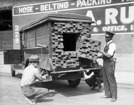 It takes more than bricks and mortar to raise a building.  Someone has to move those bricks, and chances are that bricklayer was no teetotaler.  Smuggling was a lucrative trade that brought alcohol to the people that wanted it.  It's hard to crack down on smuggling when everyone's hoping the brick cart brings more the next trip.