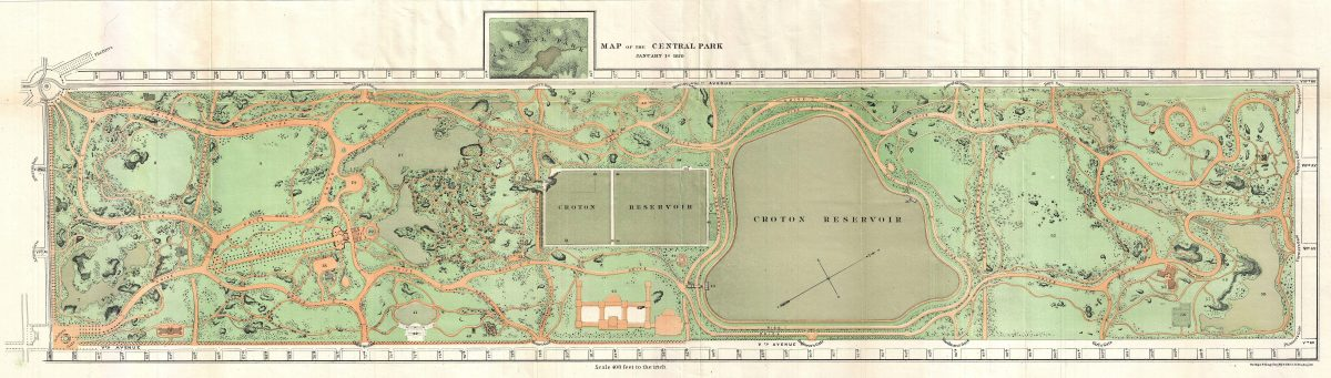 Central Park History Of New York City