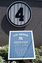 Lou Gehrig Monument Park