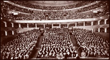 Carnegie Hall in 1925