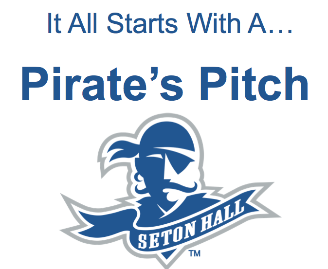 Welcome to Pirates Pitch 2014! $10,000 in prizes!