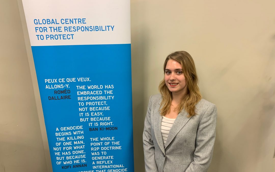 Internship Blog Series: Global Centre for the Responsibility to Protect