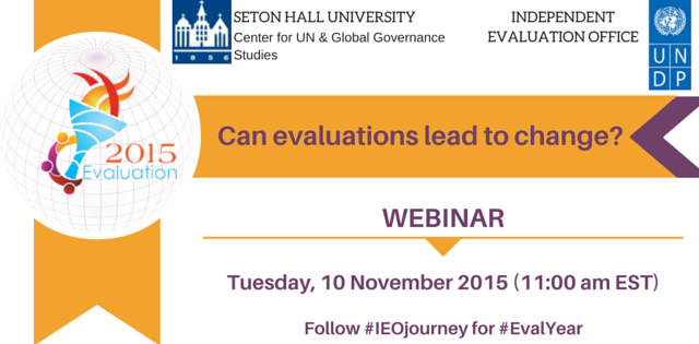 Talks@Diplo: Video from UNDP IEO Webinar – Can Evaluations Lead to Change?