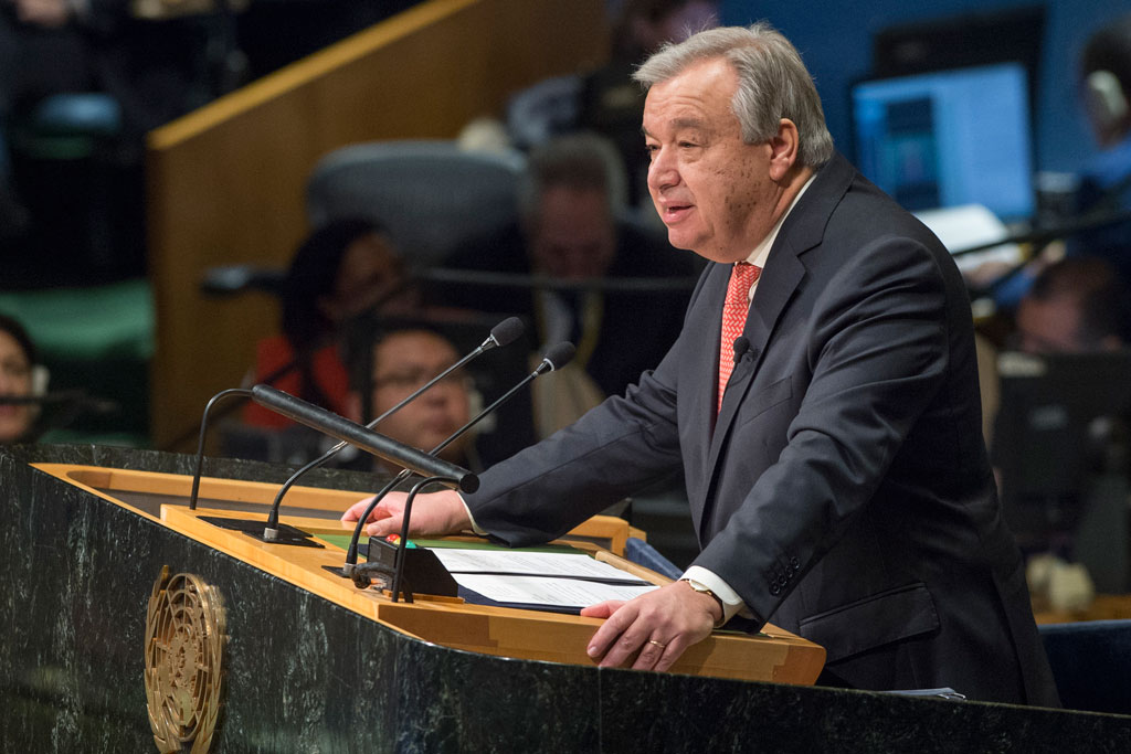 Global Survey Results  Priorities for the New UN Secretary-General