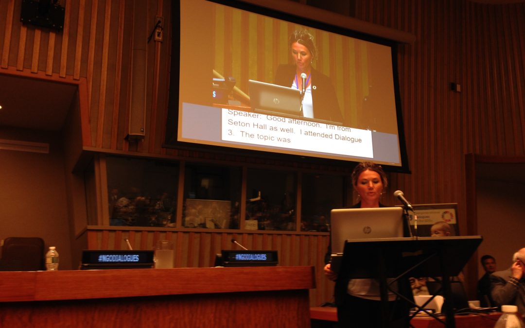 What Does It Mean to Be a Rapporteur at the United Nations Event?