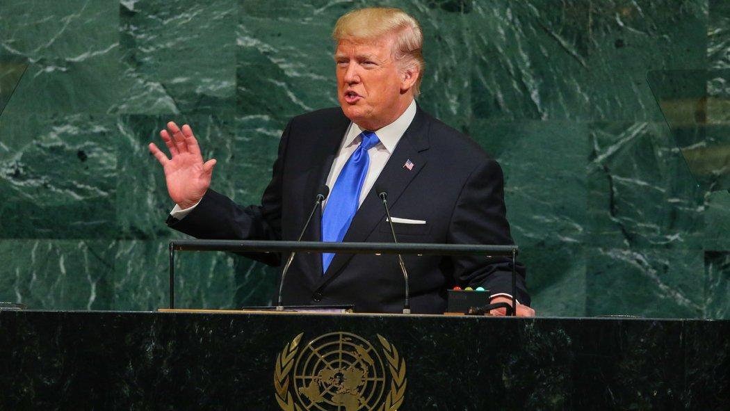 Trump's first UN General Assembly General Speech