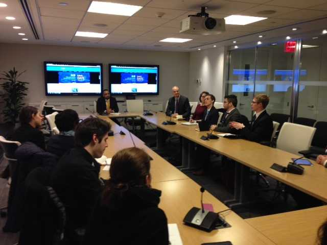 Diplomacy Students' Professional Development Visit to the United Nations