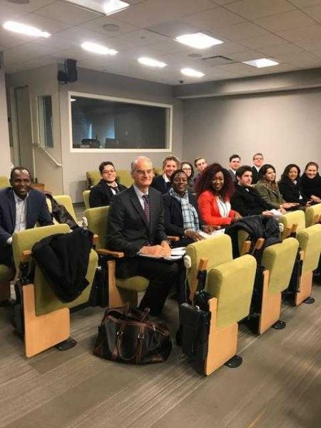 Diplomacy Students' Professional Development Visit to the