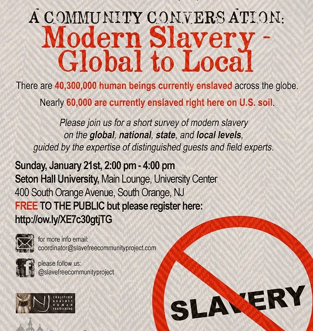 A Community Conversation: Modern Slavery-Global to Local