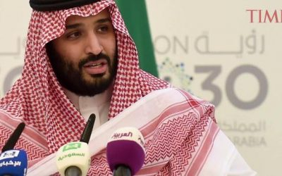 Saudi Arabia Crown Prince Says Conflict Will Break Out If Trump Doesn't Apply Renewed Economic Pressure on Iran