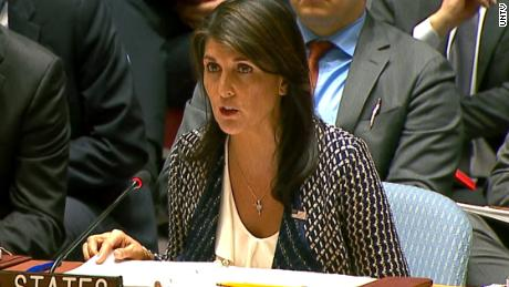 Haley: No to UN Global Pact for the Environment