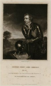 Jeffery Amherst Portrait 1765