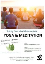 Yoga and Meditation on the Green