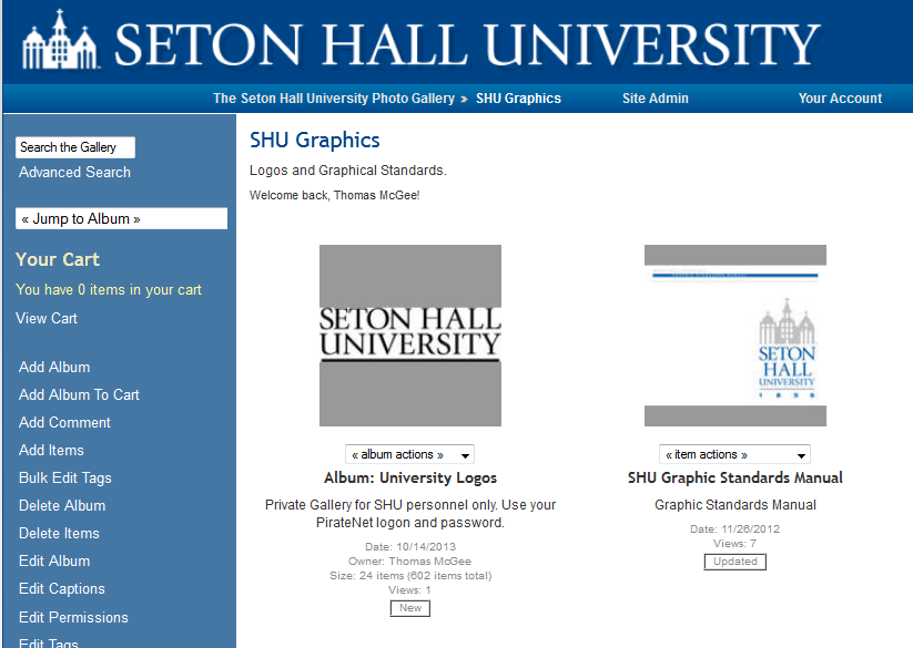 SHU Logos and Graphic Standards