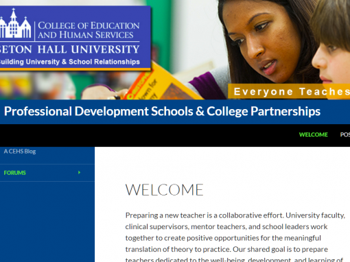 Professional Development Schools & College Partnerships