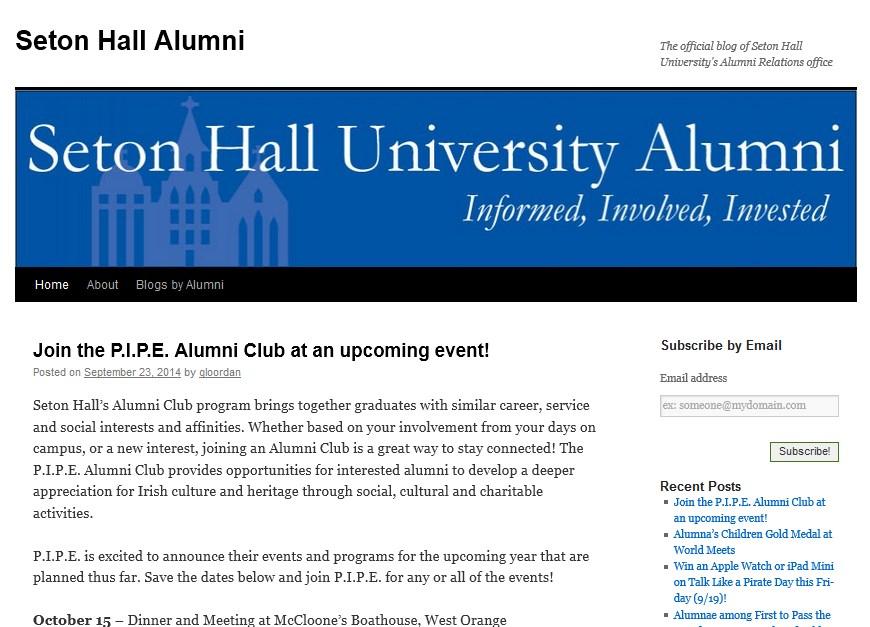 Seton Hall Alumni