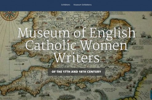 Museum of English Catholic Women Writers of the 17th and 18th Century