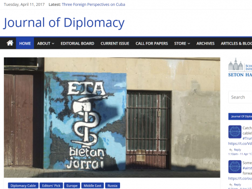 Journal of Diplomacy