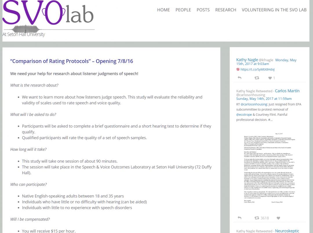 SVO Lab