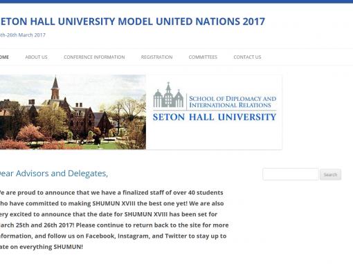 SHU Model United Nations