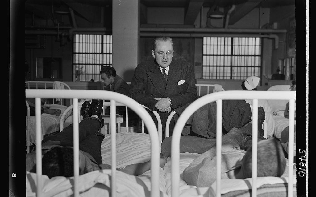 Patriotism behind bars: U.S. prisons aid the war effort