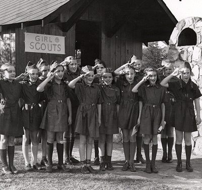 Girl Scouts across the country aid war effort