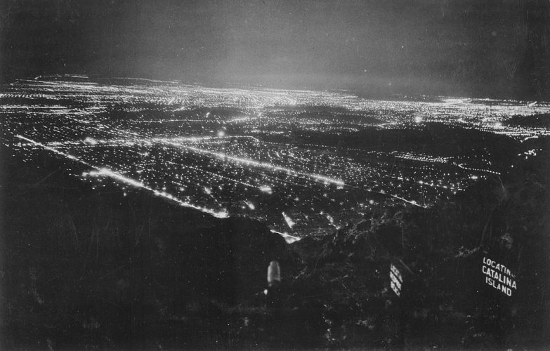 The sprawling lights of Los Angeles among other areas, turned to darkness in the early morning of Feb. 25. From Wikimedia Commons.