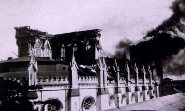 Japanese Bombard, Occupy Manila