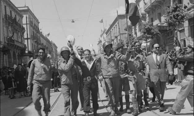 Axis forces in North Africa surrender: over 150,000 prisoners captured