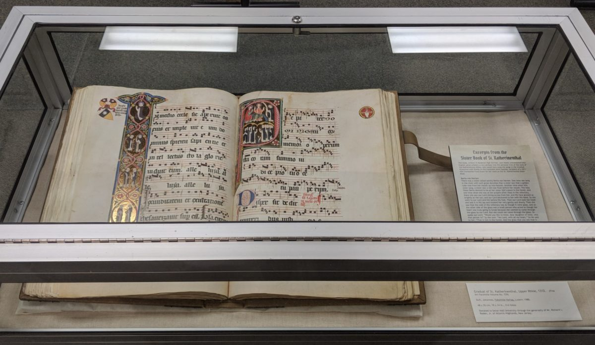 The Book of Kells and Gradual of St. Katherinenthal – An Exhibit of Legendary Texts