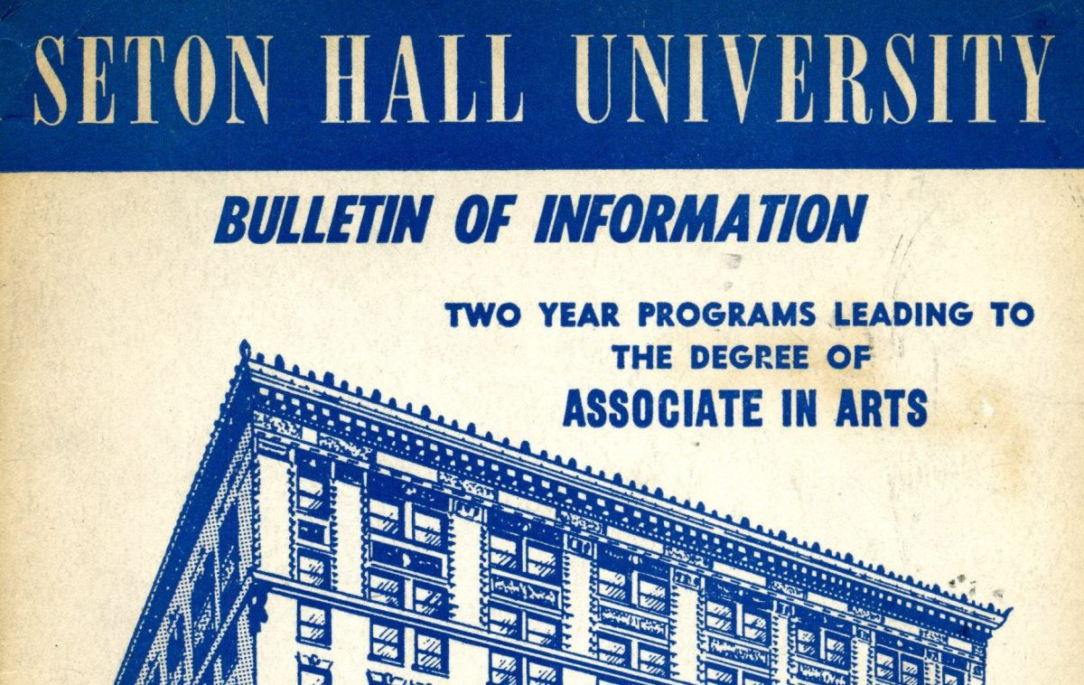 Seton Hall Community College – The Associate Degree Experience (1952-64)