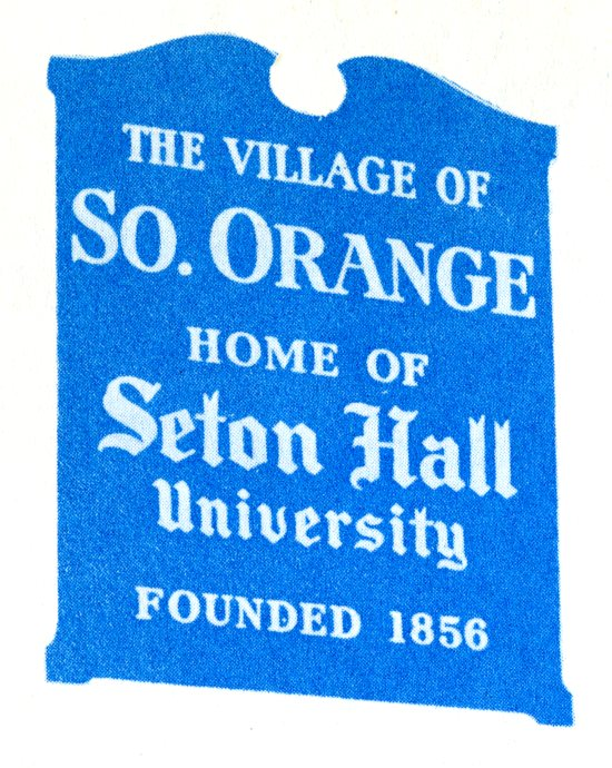 South Orange and Seton Hall – Local Research Ties