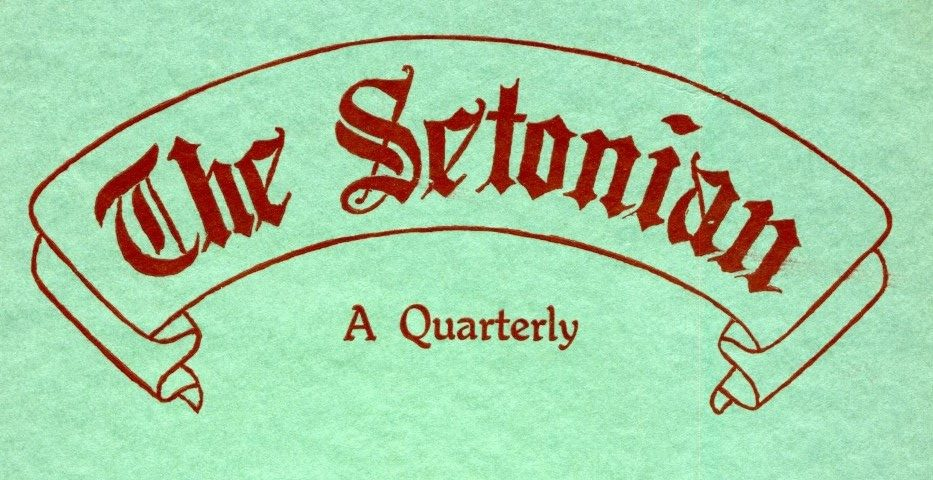 Xmas and The Setonian During the Late 1920s and Early 1930s