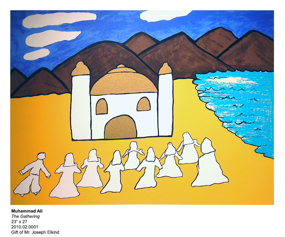 """Object of the Week – """"The Gathering"""" by Muhammad Ali"""