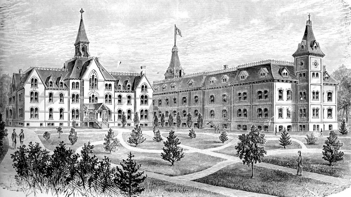 Seton Hall 150 Years Ago – 1870