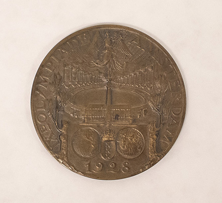 Object of the Week: Melvin Dalton Olympic Qualifying Medal and Certificate