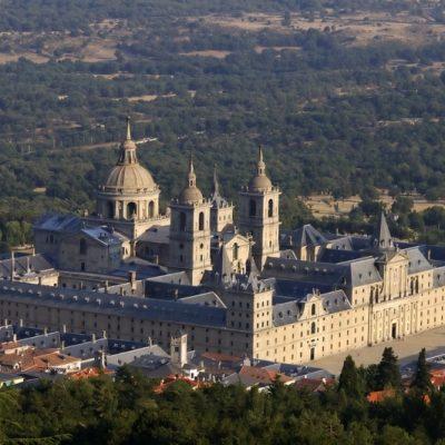 Image of the Monastery at El Escorial.