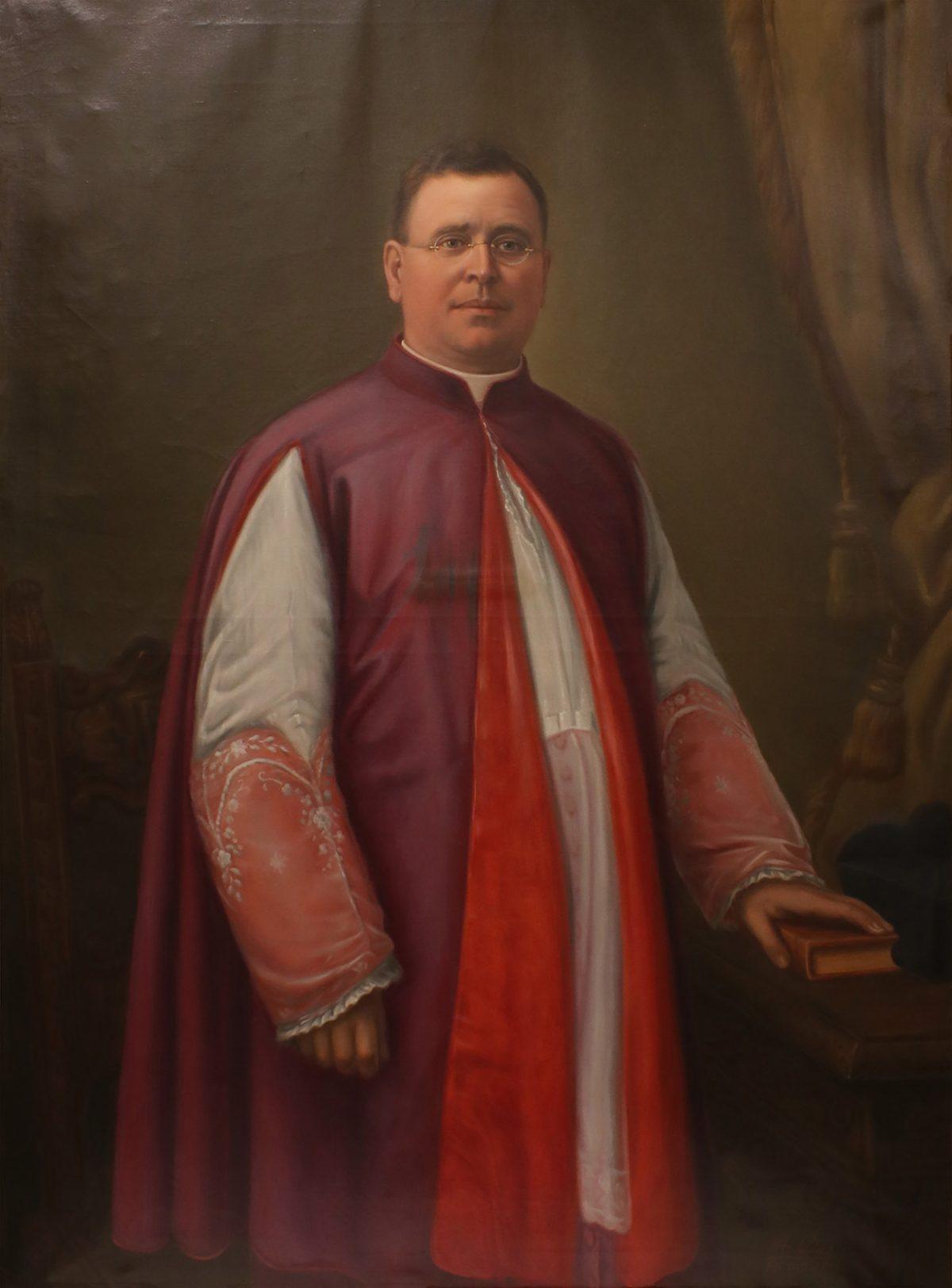Object of the Week – Portrait of Monsignor John A. Stafford, S.T.L.