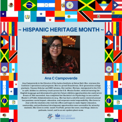 Ana Campoverde is the Director of the Latino Institute at Seton Hall. She oversees the Institute's operations and programs. She is a proud Ecuadorean, first-generation college graduate, Unanue Scholar and SHU alumna. Her mother, Myriam, immigrated to the U.S. in 1986, hidden in a delivery truck across the U.S. -Mexico border, without knowing the English language and determined to give her future children opportunities she could never dream of. She succeeded. Ana completed her Bachelor's in Psychology in 2012 and her Master's of Public Administration in 2014. She has had a colorful career centered around her passions: social impact, education, and corporate social responsibility. She loves to chat with the students who visit the office and hopes to make higher educati6n, mentorship, and professional development opportunities more accessible for minority students. She loves to write, watch YouTube, peruse the news, read blogs. listen to podcasts, travel, and is an out-spoken plant-mom.
