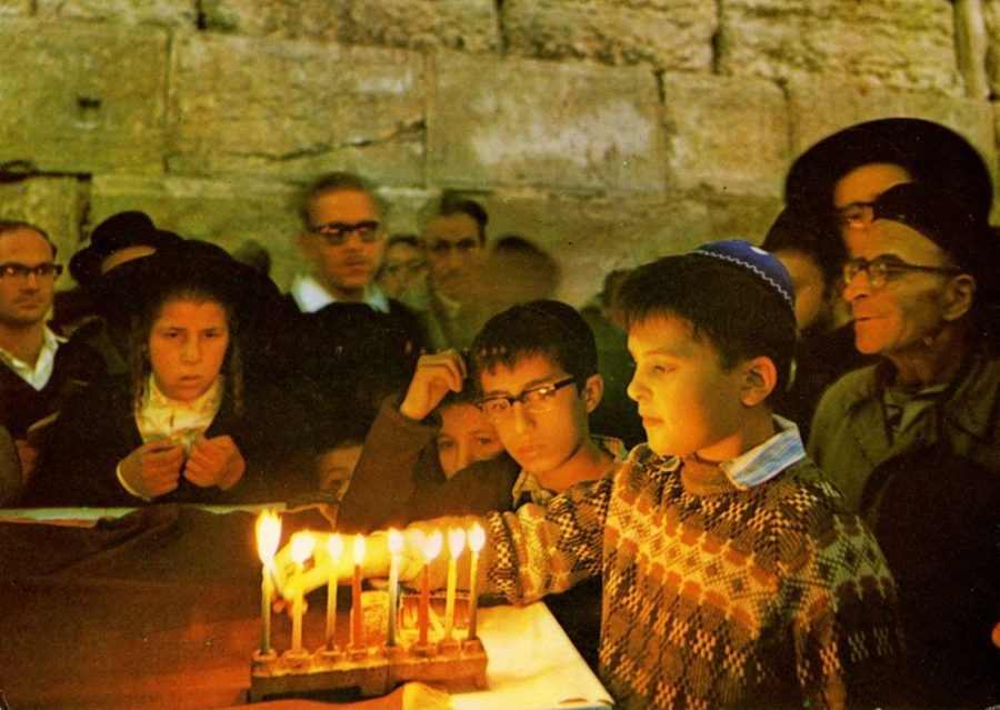 Object of the Week: Hanukkah Observances at Jerusalem's Western Wall