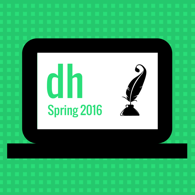 DH Spring 2016 events
