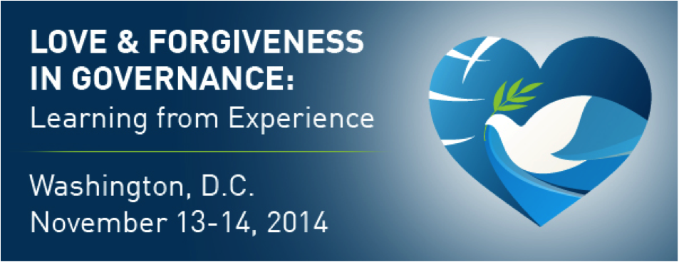 Symposium on Love and Forgiveness in Govenance
